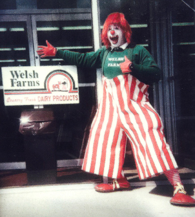 corporate entertainmnet welsh farms clown nj new jersey